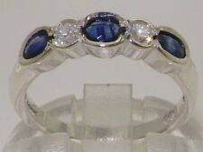 Band Oval Sapphire Fine Rings