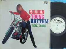 Boss Combo ORIG JAP LP Golden young rhythm EX Coral SDL10261C Surf Garage 60's