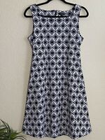 The Limited Womens Sleeveless Dress Black White Casual Size 6