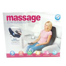 Vibration Massage Seat Cushion Massager with Heat 5 Vibration Motors Home Or Car