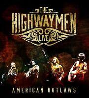 THE HIGHWAYMEN - LIVE - AMERICAN OUTLAWS (3-CD/BLU-RAY)  4 CD NEU
