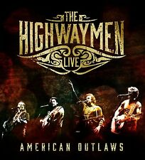 The Highwaymen-Live-American Outlaws (3-cd/blu-ray) 4 CD NEUF