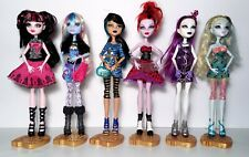 Monster High Picture Day Lot of 6 Draculaura Cleo Spectra Abbey Operetta Dolls