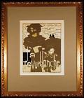 La Revue Blanche Original 1896 Color Lithograph after Pierre Bonnard Framed