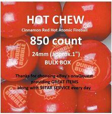 850 DUBBLE BUBBLE HOT CINNAMON Gum atomic vending candy fireball gumballs double