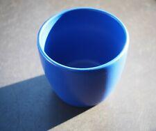 Blumentopf klein blau Ton