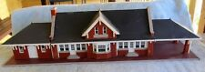 Large Brick Model Railway Station Office Building to Suit HO Scale Layouts