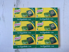 Knorr Vegetable Stock Cubes, 48 x 10g Cubes, Gluten Free