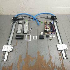 1967-79 Ford Truck Power Window Kit bosch motors regulator wiring harness 12v