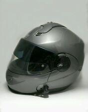 NOLAN N102 Helmet N-COM Bluetooth- Medium - Gun Metal Gray - VPS Visor - Italy