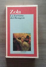 Zola : la fortuna dei Rougon - garzanti 1992