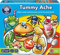 Orchard Toys TUMMY ACHE Educational Game Puzzle BNIP