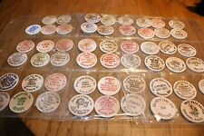 Collection of wooden tokens