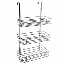 Chrome Bathroom Shower Caddies/Organisers
