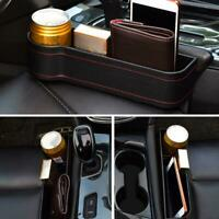 2 x Car Seat Crevice Box Storage Cup Drink Holder Organizer Gap -Pocket Stowing