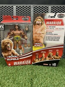 WWE Ultimate Warrior Royal Rumble Elite Collection Action Figure NEW IN STOCK