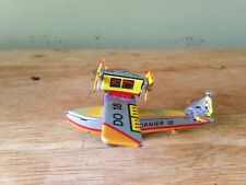 Vintage ZZ Germany Tin Toy Plane Airplane Seaplane Dornier 18 DO-18