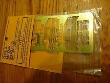 Gold Medal Modes N #1603 (N Scale) Standard Fire Escape - Basic Set - Brass