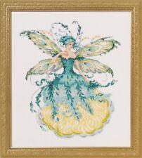 Mirabilia Cross Stitch Chart. MD159  March Aquamarine Fairy Cheap Shipping.