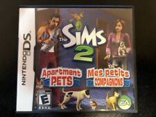 The Sims 2 : Apartment Pets - Ds ( Nintendo Ds ) Complete W/box & Manual !