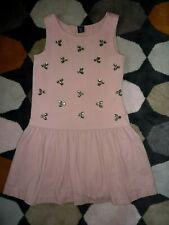 ♥ Gap ♥  Kleid ♥ 8 Jahre ♥ Gr.128/134 ♥ altrosa mit Glitzersteinen  ♥