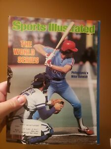 Sports Illustrated October 27 1980 Mike Schmidt Phillies World Series