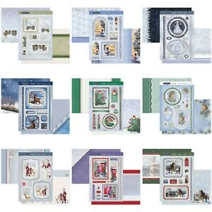 Hunkydory Christmas Card Making Kits - Winter Wishes - Choice of Topper Sets