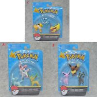 "Pokemon Go Eevee Evolution Family 2"" Action Figure 3 pcs/Set Box Party Toys Gift"
