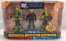 DC UNIVERSE INFINITE HEROES CRISIS LEX LUTHOR 3 PACK MINT-IN-BOX FROM MATTEL!!