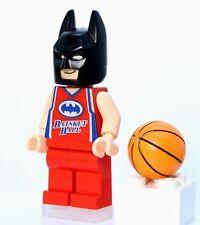 A859 Lego CUSTOM PRINTED The Lego Batman movie BASKETBALL PLAYER BATMAN MINIFIG