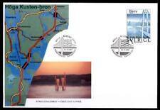 Hohe-Küste-Brücke bei Härnösand. FDC. Schweden 1997