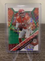 2020 Panini Mosaic Will To Win Green Mosaic Prizm PATRICK MAHOMES Chiefs SP Rare