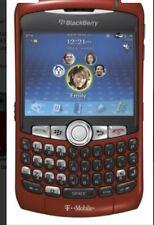 BlackBerry Phone Red C. 8310 ( At&T)Gps 2Gb Navega- Smartphone Bluetooth-Unlock.