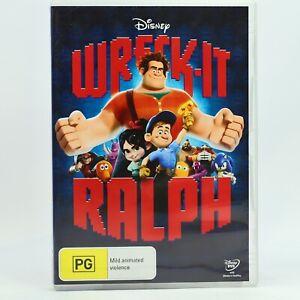 Wreck-It Ralph Disney DVD Movie Good Condition Free Tracked Post AU