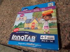 VTECH InnoTab Doc McStuffins Learning Tablet 4-7 Years PRE K-1st NIB MSRP $29