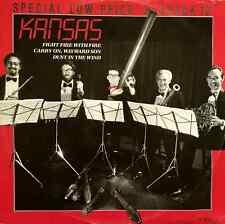 """KANSAS - Fight Fire With Fire (12"""") (VG/G)"""