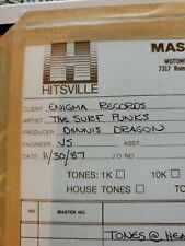 Surf Punks  Original Master 10 1/2 Reel To Reel 1 of a kind