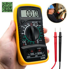 LCD Multímetro Voltímetro Digital AC DC Voltaje Probador Circuito Amperímetro