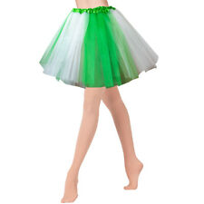 Green White Tutu Irish Paddys St Patricks Day  Celtic Fancy Dress Costume NEW
