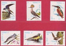 Laos 1982 Birds Set of 6 UM SG 539 to 544
