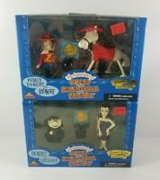 The Adventures Of Rocky & Bullwinkle Figures Boris/Natasha Dudley Do-Right/Horse