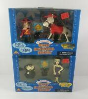 The Adventures Of Rocky & Bullwinkle Figures Boris/Natasha Dudley Do-Right/Horse