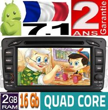 ANDROID 7.1 MERCEDES C/CLK-CLASS W203 VIANO RADIO DVD GPS SD 3G CD CAR VOITURE