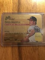 Greg Maddux 1995 Studio GOLD - INSERT 6 of 50 LOOKS LIKE CC 💳 Braves