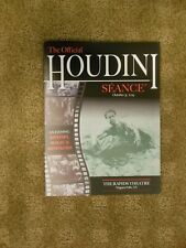 2019 The Official Houdini Seance Program - held in Niagara Falls. New. free post