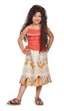 Moana Classic Disney Hawaiian Luau Girl Fancy Dress Up Halloween Child Costume M