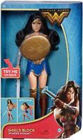 "Mattel DC Wonder Woman Shield Block Action Doll, 12"" Great Gift"