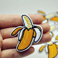 1Pcs Embroided Banana Sew Iron On Patch Badge Bag Hat Fabric Applique DIY