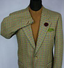 Trussardi Blazer Jacket Tweed Designer Wool & Cashmere 40S EXCEPTIONAL ITEM 2325