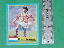 VANENBURG NEDERLAND PSV EINDHOVEN FOOTBALL 1989-1990 VALLARDI MINI CARD PANINI